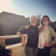 Grandma came to visit!