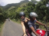 Motor Cycle riding to Knuckles Mountain range