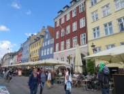 Famous Nyhavn street in Copenhagen