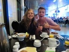 Breakfast in the Berlin hotel