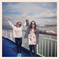 Ferry ride to Germany