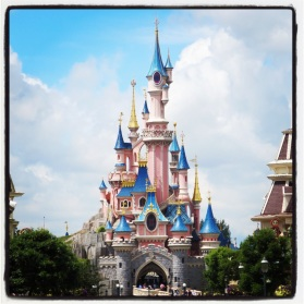 Castle in Disney Paris