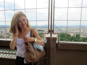 Candid photo in the Tower