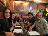 First dinner in Paris