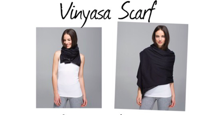 One of the best travel scarves I have come across from lululemon.com