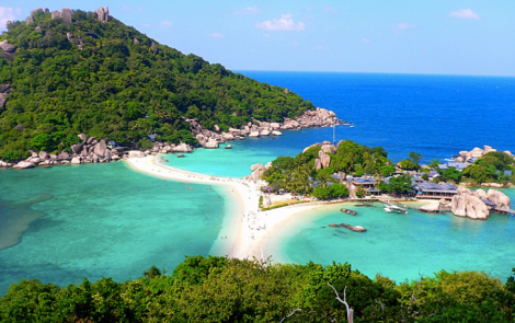 The beautiful island of Koh Tao
