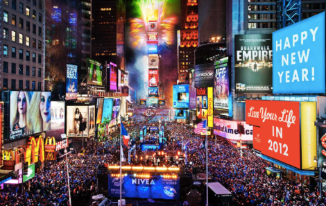 New years in New York! I can officially cross that one off the bucket list :) *not my picture
