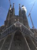 Front of the Sagrada Familia