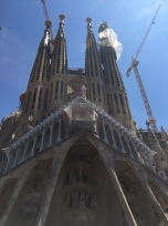 Front of the Sagrada Familia